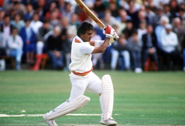 Sunil Gavaskar made 67 not out