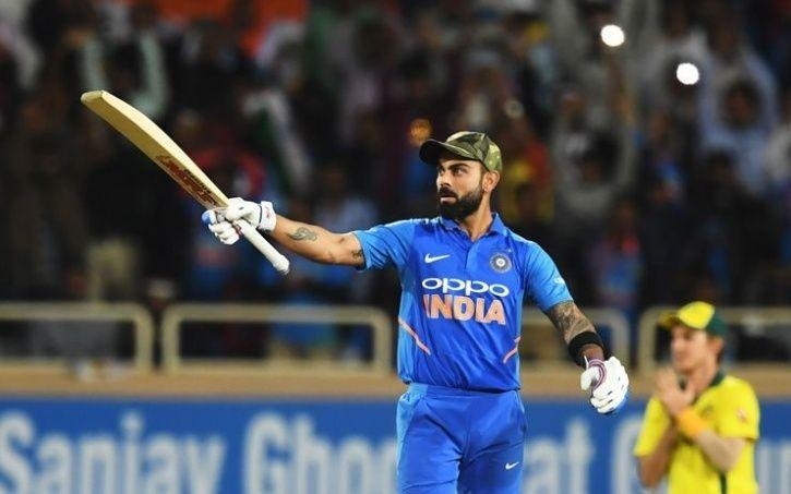 Team India wore Army caps