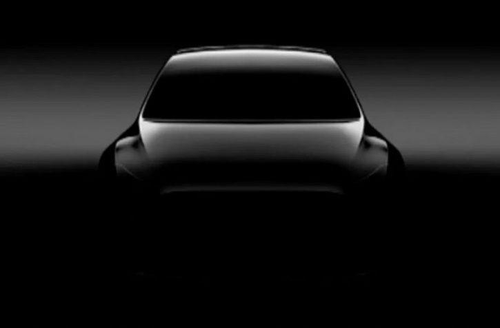 Tesla Model Y, Tesla Model Y Unveil, Tesla Model Y Launch, Tesla Model Y Teaser Image, Tesla Model Y