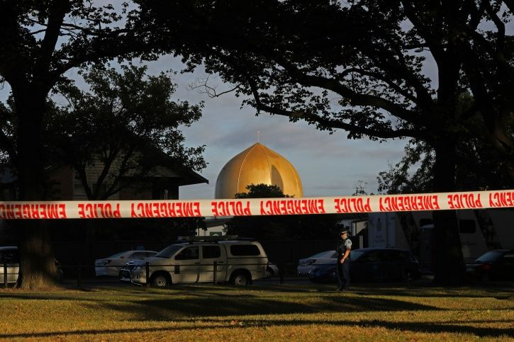 U.S Mosque, southern California, New zealand, fire, shootings, note, police