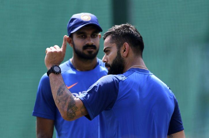 Virat Kohli And Vijay Shankar