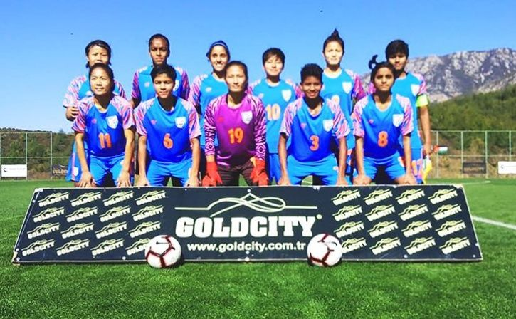 women football team thrashed tukmenistan 10-0