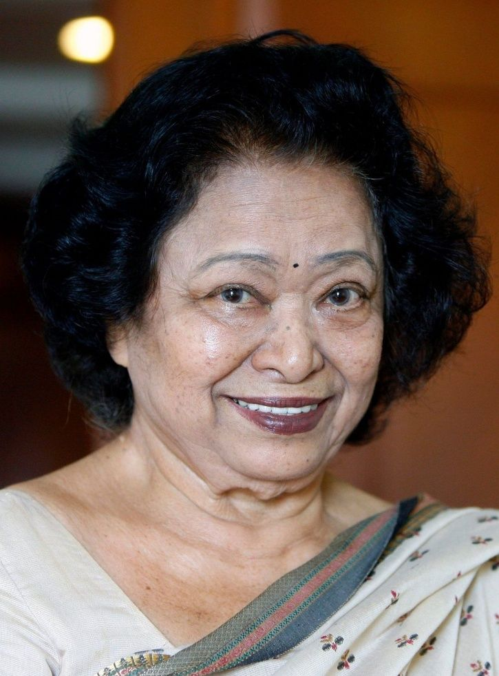 A picture of Human Computer Shakuntala Devi whose biopic is in the works.