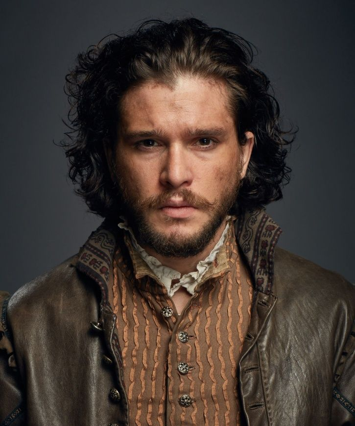 A picture of Kit Harington looking hot as always.