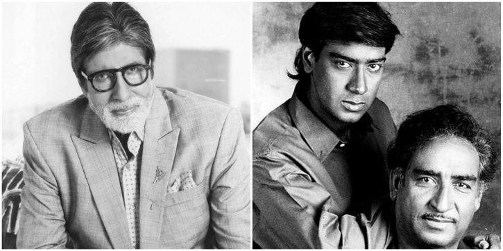 Amitabh Bachchan and Veeru Devgan