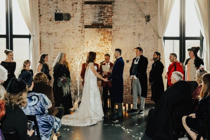 Anna Muehlenhaupt and Russell Moore spent months crafting their dream Harry Potter-themed wedding.