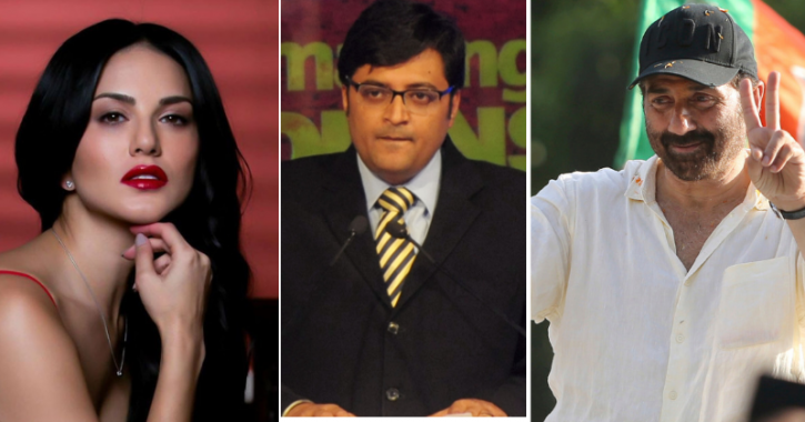 Arnab Goswami Calls Sunny Deol As Sunny Leone, Actress Posts Hilarious Response