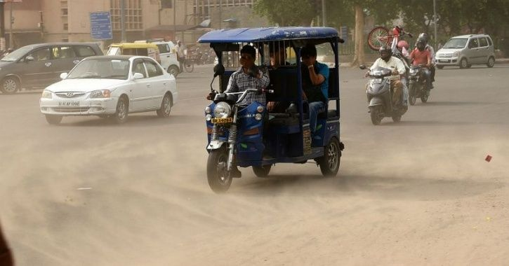 As Dusty Winds Continue To Lash Delhi-NCR, Air Quality Expected To Turn 'Severe' Again