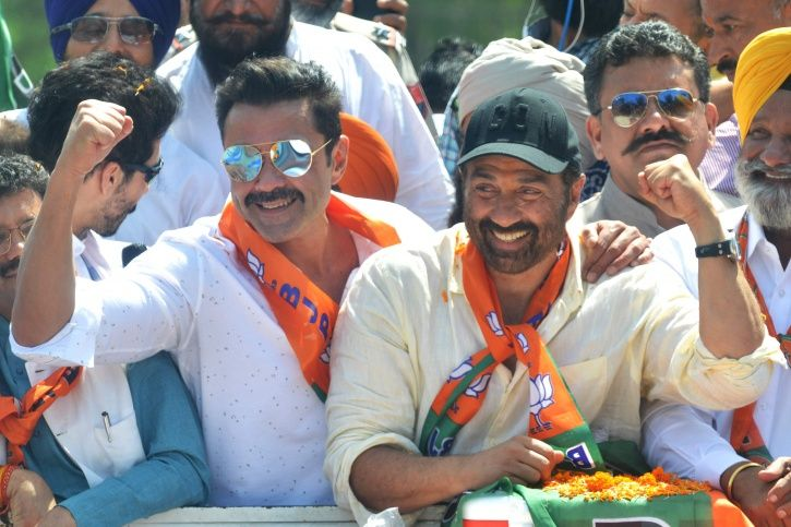 Bollywood celebrities contesting elections: Sunny Deol.