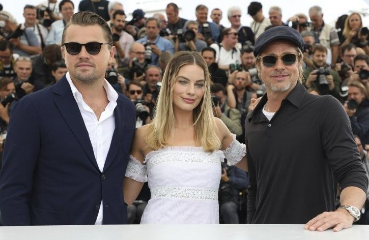 Brad Pitt And Leonardo DiCaprio Walked Cannes Red Carpet In Twinning Tuxedos & We're Swooning