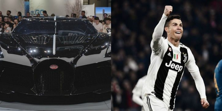 It Appears Cristiano Ronaldo Has Bought The World S Most Expensive Car A Bugatti La Voiture Noire For 9 5 Million Pounds