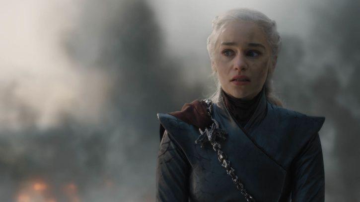 Daenerys Targaryen burns down King
