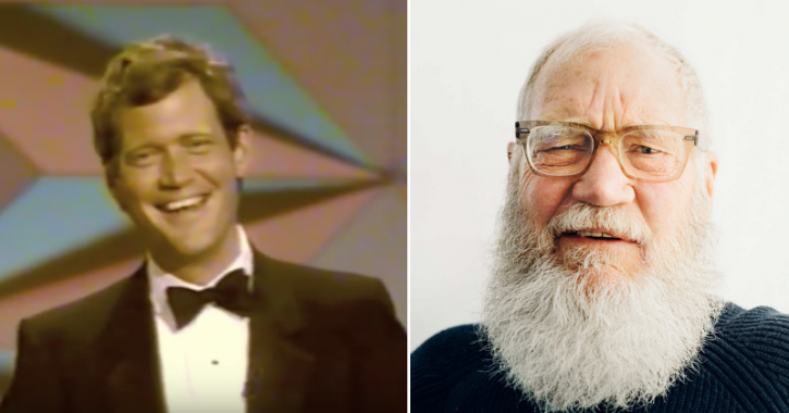 David Letterman is known for hosting late night talk show for the past 33 years.