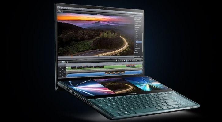 dual-screen laptops