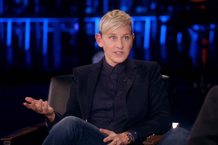 Ellen DeGeneres was sexually abused by her stepfather who groped her breasts at the age of 15.