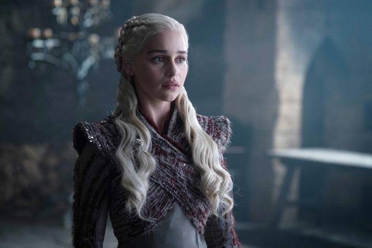 Emilia Clarke talks about Game of Thrones season 8 episode 5 on Jimmy Kimmel Live.
