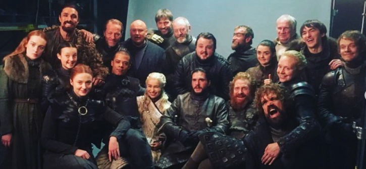 Entire cast of Game Of Thrones.