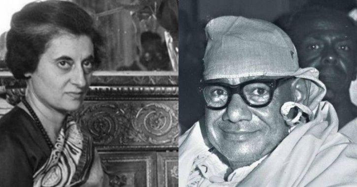 Former PM Indira Gandhi and Raj Narain