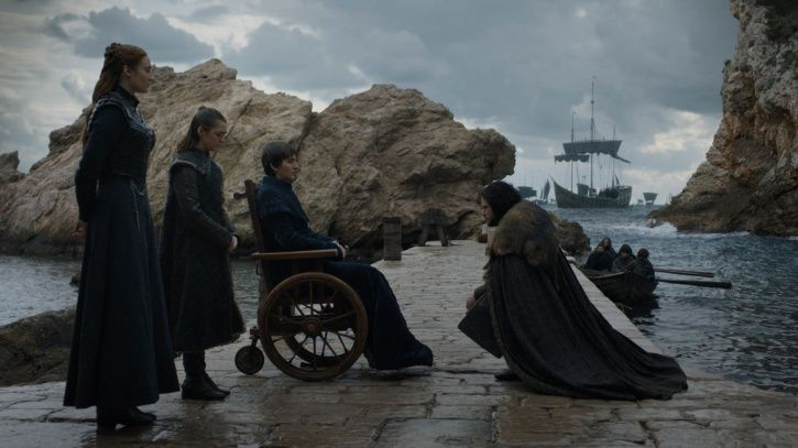 Game of thrones books will not have the same ending as the show, says George RR Martin.
