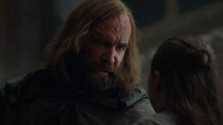 Game of Thrones season 8 episode 5: Arya Stark called Hound by his name.