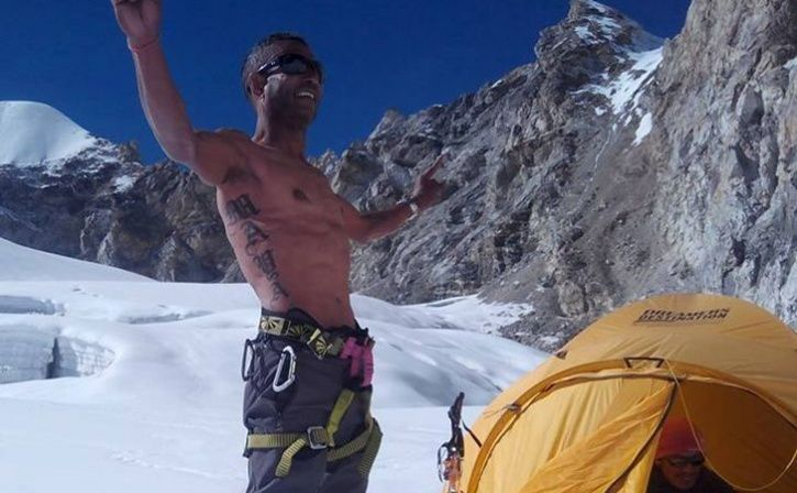 gopal shrestha first hiv infected climber to mount everest