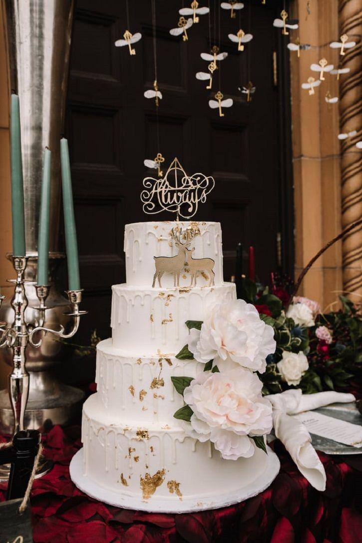 Harry Potter themed wedding shoot.