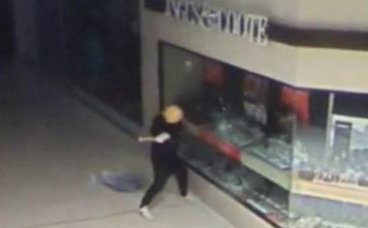 Man Wearing Donald Trump Mask Robs Shops