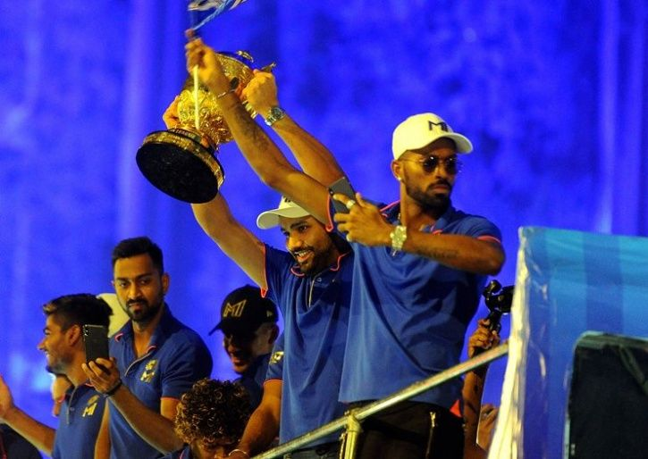 Here S How Mumbai Indians Celebrated Winning Ipl 2019 With A Victory Parade