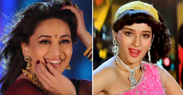 On Dancing queen of Bollywood Madhuri Dixit's birthday, Bollywood is showering her with blessings.