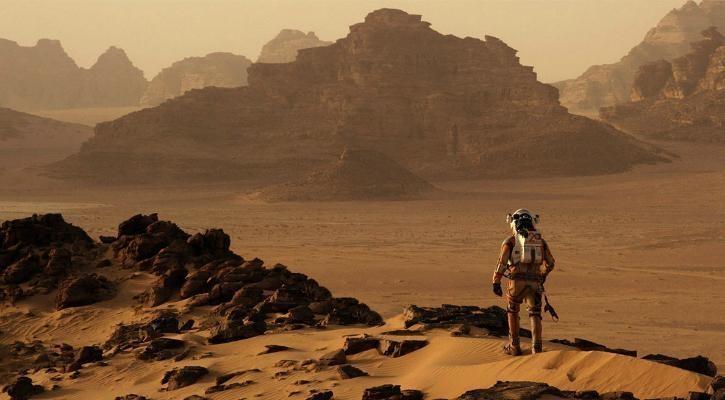 Oxygen Mars