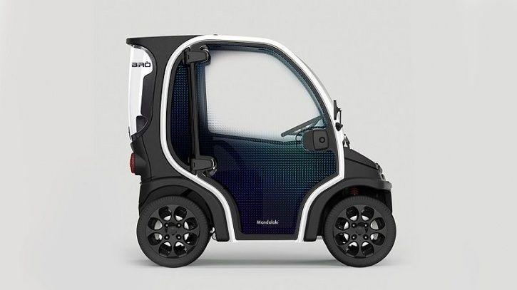 Plastic Electric Car, Electric Car Concept, Designer Electric Car, Birò O2, Milan Design Week, EV N