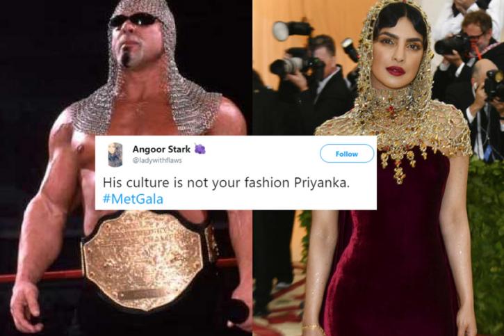 Priyanka Chopra Met Gala outfit 2018 memes.