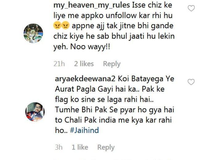 Rakhi Sawant gets trolled posing with a Pakistani flag.