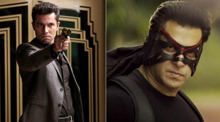 Randeep Hooda and Salman Khan in Kick.