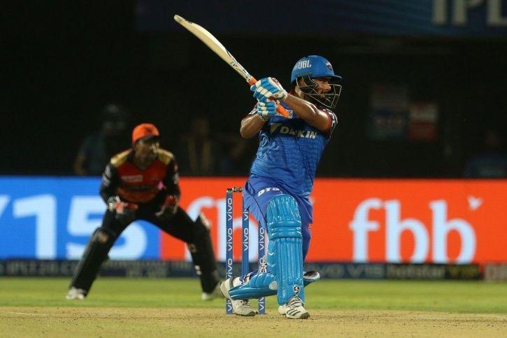 Rishabh Pant made 49