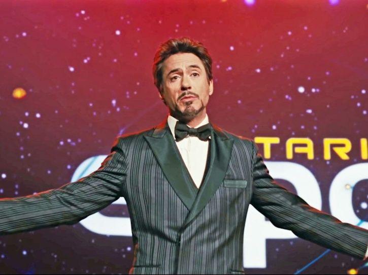Robert Downey Jr from Avengers: Endgame.