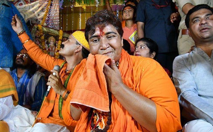 sadhvi pragya insulting mahatma gandhi
