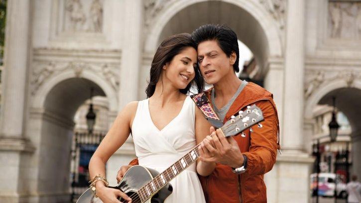 Shah Rukh Khan and Katrina