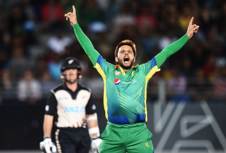 Shahid Afridi is always in the news