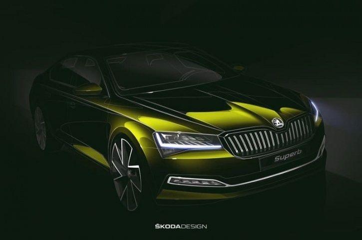 Skoda Superb Hybrid, Superb Hybrid Launch, Superb Hybrid Price, Superb Hybrid Images, Superb Hybrid