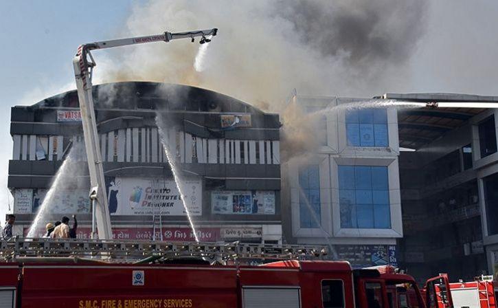 surat coaching centre fire