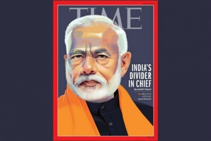 TIME Magazine Features PM Narendra Modi On Cover, Calls Him 'India's Divider In Chief'