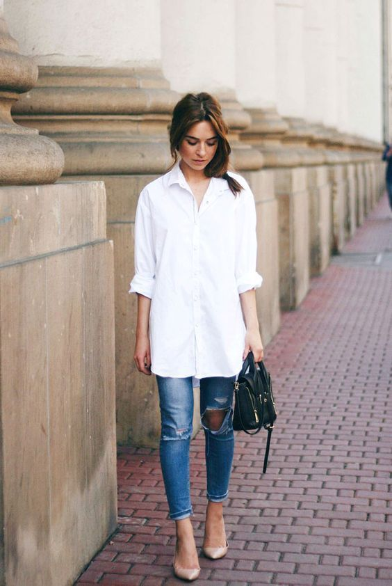 13 Seriously Cool Ways To Style A White Shirt, Your Ultimate Saviour When  Nothing Else Will Do