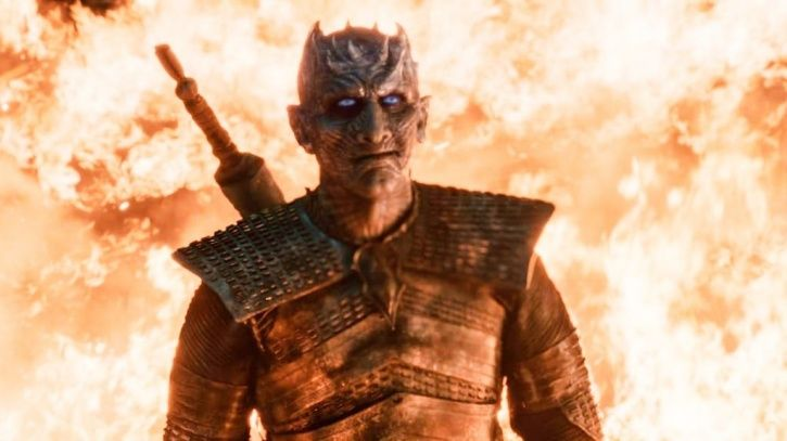 Who is night king why was he smirking.