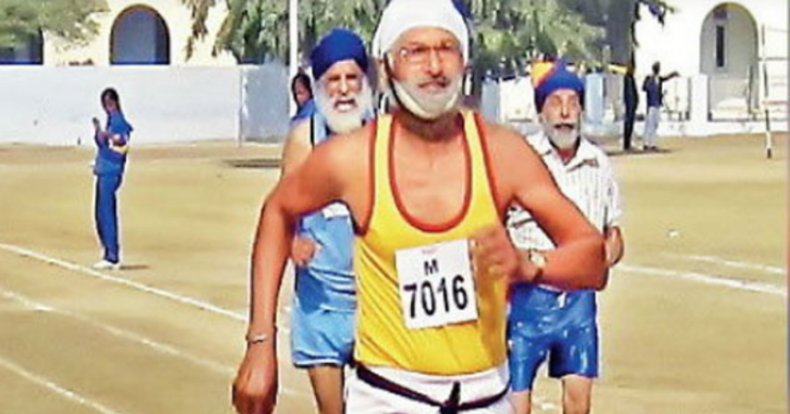 78 Year Old Athlete, Heart Attack, Race, Punjab