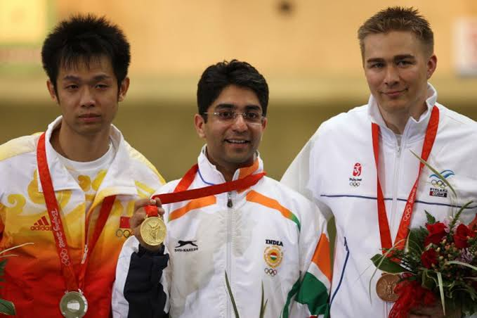 Abhinav Binda won an Olympic gold