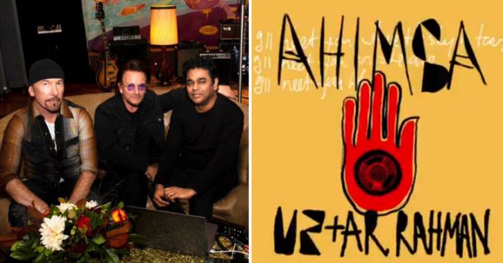 AR Rahman Collaborates With U2 For New Single