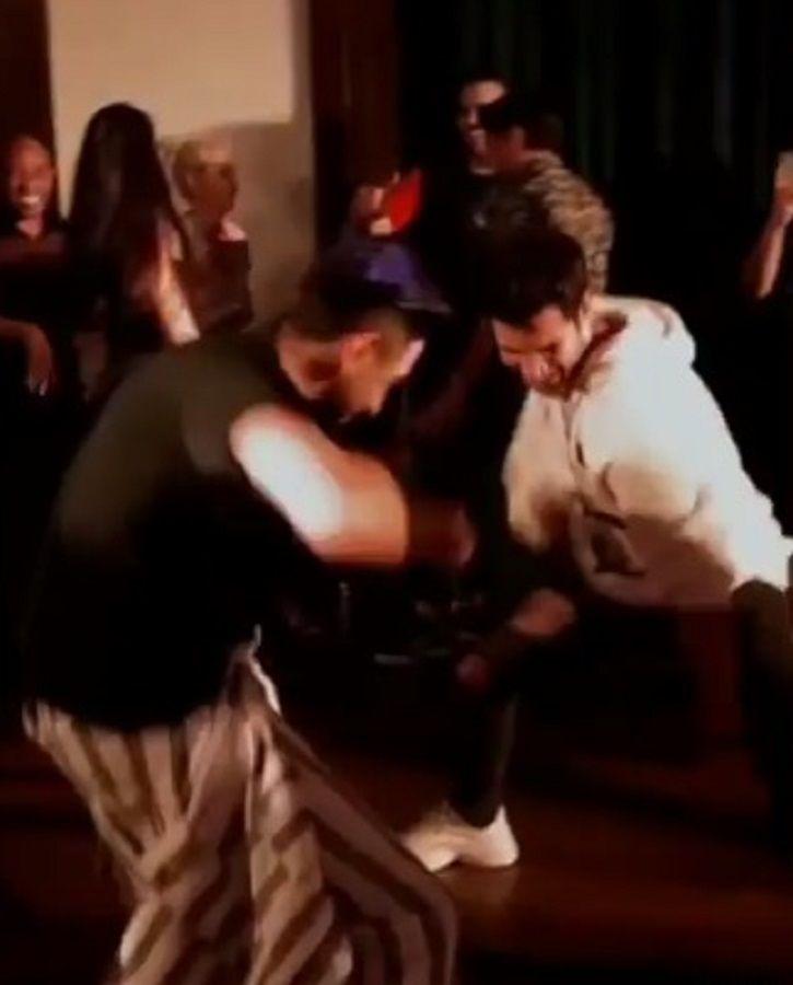 Ayushmann and Rajkummar dance at Bala success party.