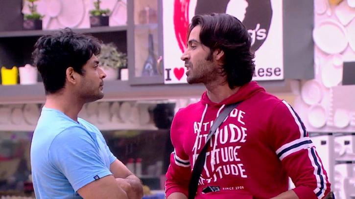 Bigg Boss 13: Arhaan Khan and Sidharth Shukla.