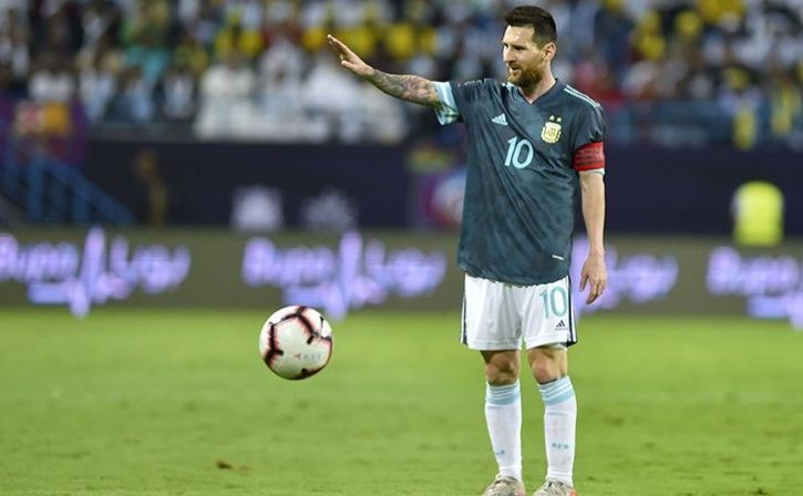 Brazil Coach Claims Lionel Messi Told Him To Shut Up